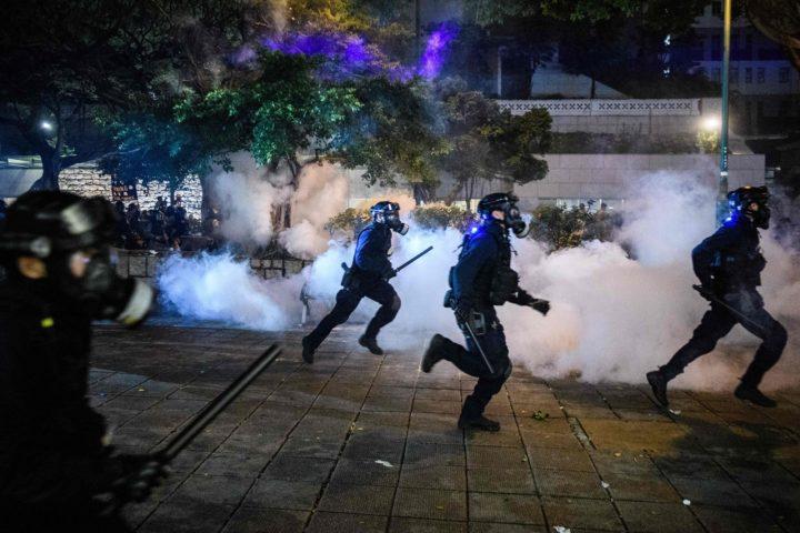 Dow Dives as Beijing Rebukes Hong Kong 'Terrorism'