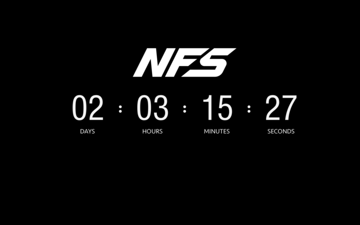 Need For Speed Countdown Teaser Revealed in Smart New EA Marketing Shift
